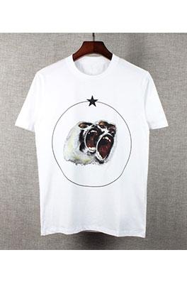 【ジバンシイ G*VENCHY】ネーム有り 高品質 メンズ レディース 半袖Tシャツ  aat3172