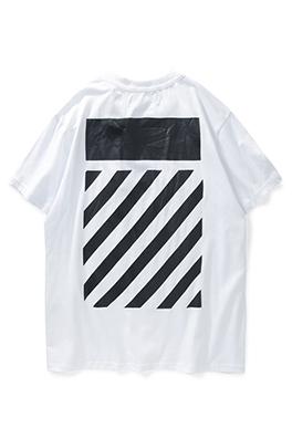 【オフホワイト OFF-WHITE】超高品質 メンズ レディース 半袖Tシャツ aat3610
