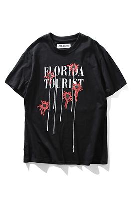【オフホワイト OFF-WHITE】超高品質 メンズ レディース 半袖Tシャツ aat3613