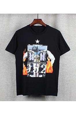 【ジバンシイ G*VENCHY】  ネーム有り 高品質 メンズ レディース 半袖Tシャツ aat3661