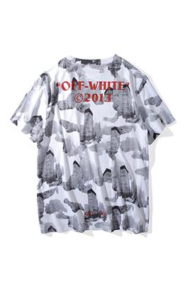 【オフホワイト OFF-WHITE】超高品質 メンズ レディース 半袖Tシャツ aat3672