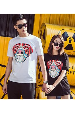 【ジバンシイ G*VENCHY】ネーム有り 高品質 メンズ レディース 半袖Tシャツ aat3847