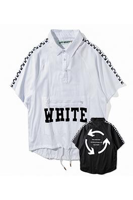 【オフホワイト OFF-WHITE】 超高品質 メンズ レディース 半袖Tシャツ  aat3880