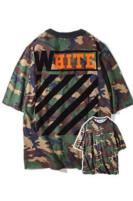 【オフホワイト OFF-WHITE】 超高品質 メンズ レディース 半袖Tシャツ  aat3882