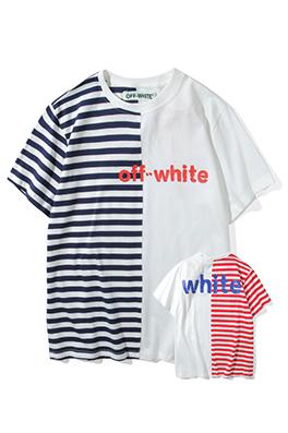 【オフホワイト OFF-WHITE】 超高品質 メンズ レディース 半袖Tシャツ  aat3886