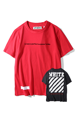 【オフホワイト OFF-WHITE】 超高品質 メンズ レディース 半袖Tシャツ  aat3889