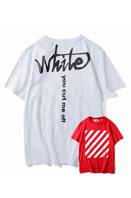 【オフホワイト OFF-WHITE】 超高品質 メンズ レディース 半袖Tシャツ  aat3891