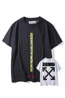 【オフホワイト OFF-WHITE】 超高品質 メンズ レディース 半袖Tシャツ  aat3892
