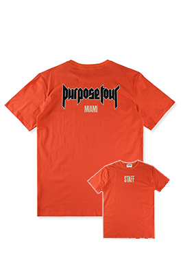 【パーパス ツアー PURPOSE TOUR】 高品質 メンズ レディース 半袖Tシャツ aat3893
