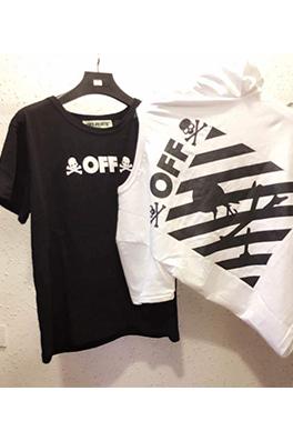【オフホワイト OFF-WHITE】 メンズ レディース 半袖Tシャツ aat3897