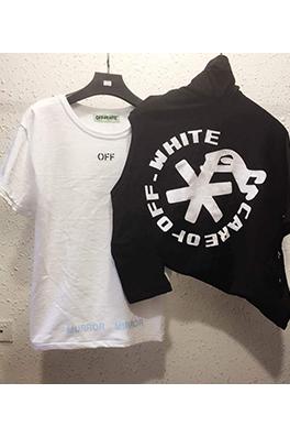【オフホワイト OFF-WHITE】 メンズ レディース 半袖Tシャツ aat3898