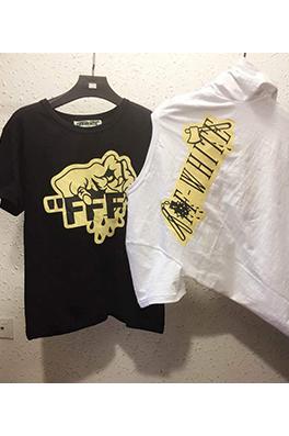 【オフホワイト OFF-WHITE】メンズ レディース 半袖Tシャツ aat3900