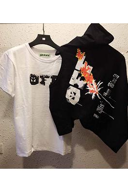 【オフホワイト OFF-WHITE】 メンズ レディース 半袖Tシャツ aat3903
