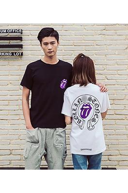 【クロムハーツ CHROME H*ARTS】ネーム有り 高品質 メンズ レディース 半袖Tシャツ aat3909