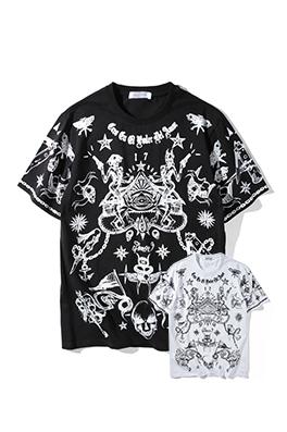 【ジバンシイ G*VENCHY】ネーム有り 高品質 メンズ レディース 半袖Tシャツ aat3924