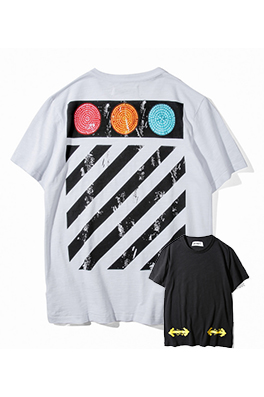 【オフホワイト OFF-WHITE】 超高品質 メンズ レディース 半袖Tシャツ  aat3927