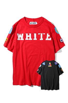 【オフホワイト OFF-WHITE】 超高品質 メンズ レディース 半袖Tシャツ  aat3929