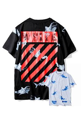 【オフホワイト OFF-WHITE】 超高品質 メンズ レディース 半袖Tシャツ  aat3931