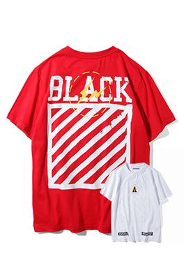 【オフホワイト OFF-BLACK】 超高品質 メンズ レディース 半袖Tシャツ  aat3932