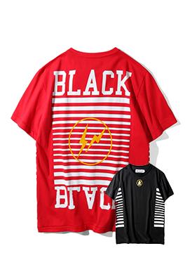【オフホワイト OFF-BLACK】 超高品質 メンズ レディース 半袖Tシャツ  aat3934