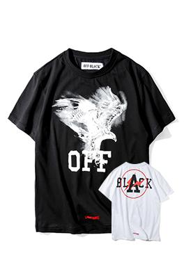 【オフホワイト OFF-BLACK】 超高品質 メンズ レディース 半袖Tシャツ  aat3936