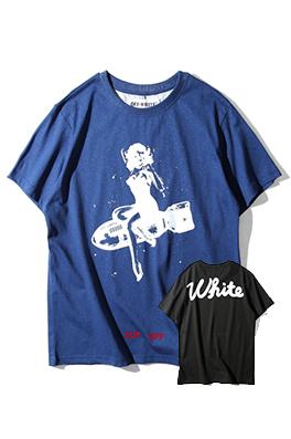【オフホワイト OFF-WHITE】 超高品質 メンズ レディース 半袖Tシャツ  aat3938