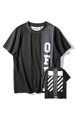 【オフホワイト OFF-WHITE】 超高品質 メンズ レディース 半袖Tシャツ  aat3940