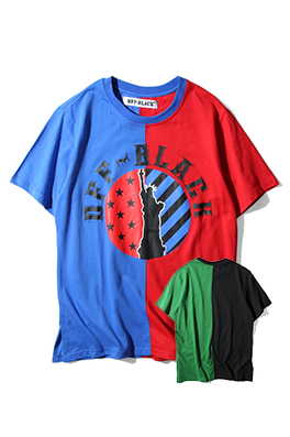 【オフホワイト OFF-BLACK】 超高品質 メンズ レディース 半袖Tシャツ  aat3943