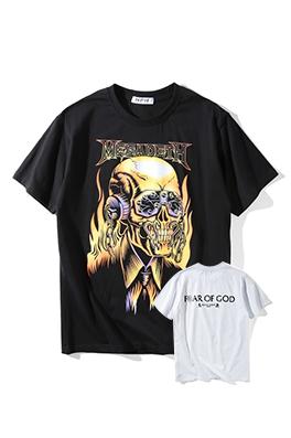 【フィアオブゴッド FEAR OF GOD】ネーム有り 高品質 メンズ レディース 半袖Tシャツ aat3984