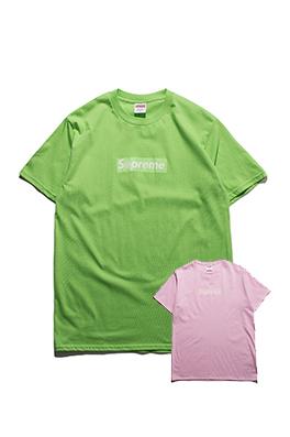 【シュプリーム S*PREME】 メンズ レディース 半袖Tシャツ aat4017