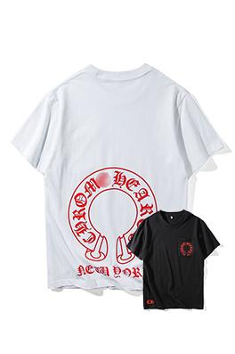 【クロムハーツ CHROME H*ARTS】 ネーム有り 高品質 メンズ レディース 半袖Tシャツ aat4029