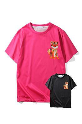 【ドルガバ  D*lce&Ga*bana】 ネーム有り 高品質 メンズ レディース 半袖Tシャツ aat4033