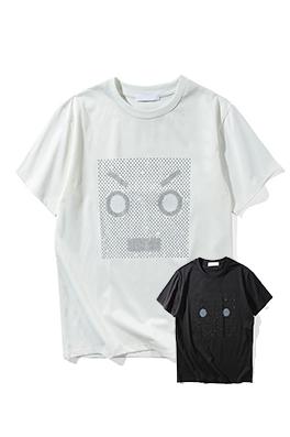 【フェンディ F*NDI】 ネーム有り 高品質 メンズ レディース 半袖Tシャツ aat4043