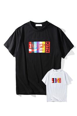 【キスニューヨークシティ KITH NYC】 ネーム有り 高品質 メンズ レディース 半袖Tシャツ aat4045