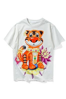【ドルガバ  D*lce&Ga*bana】 ネーム有り 高品質 メンズ レディース 半袖Tシャツ aat4049