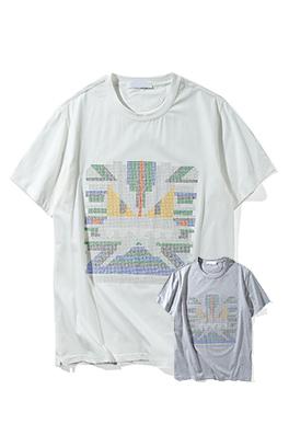 【フェンディ F*NDI】 ネーム有り 高品質 メンズ レディース 半袖Tシャツ aat4051