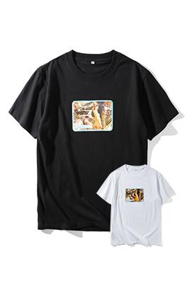【シュプリーム S*PREME】 ネーム有り 高品質 メンズ レディース 半袖Tシャツ aat4052