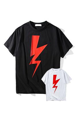 【ニールバレット Neil Bar*ett】 ネーム有り 高品質 メンズ レディース 半袖Tシャツ aat4054