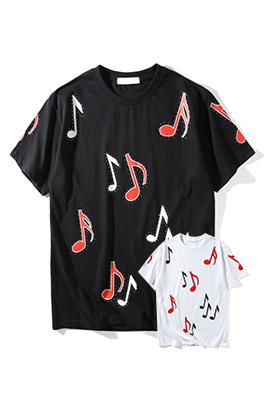 【サンローラン SAINT LAU*ENT】ネーム有り 高品質 メンズ レディース 半袖Tシャツ aat4105