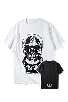 【クロムハーツ CHROME H*ARTS】  ネーム有り 高品質 メンズ レディース 半袖Tシャツ aat4107