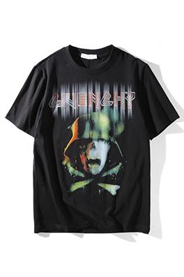 【ジバンシイ G*VENCHY】  ネーム有り 高品質 メンズ レディース 半袖Tシャツ aat4111