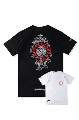 【クロムハーツ CHROME H*ARTS】 高品質 メンズ レディース 半袖Tシャツ aat4122