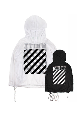 【オフホワイト OFF-WHITE】高品質  フード Tシャツ パーカー 長袖 トレーナー aat4147