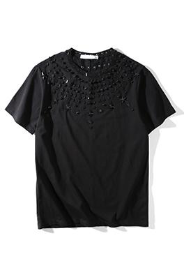 【ジバンシイ G*VENCHY】 ネーム有り 高品質 メンズ レディース 半袖Tシャツ aat4152