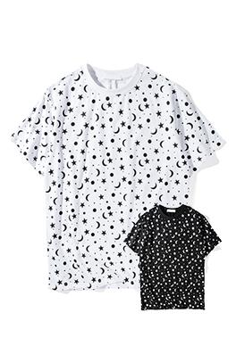 【サンローラン SAINT LAU*ENT】 ネーム有り 高品質 メンズ レディース 半袖Tシャツ aat4165
