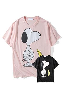【グッチ GUC*I】 ネーム有り 高品質 メンズ レディース 半袖Tシャツ aat4172