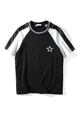 【ジバンシイ G*VENCHY】 ネーム有り 高品質 メンズ レディース 半袖Tシャツ aat4179