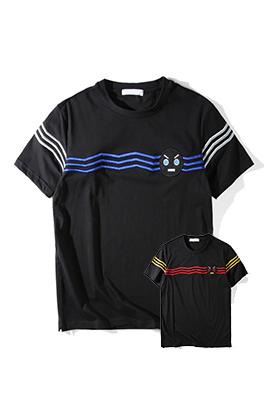 【フェンディ F*NDI】 ネーム有り 高品質 メンズ レディース 半袖Tシャツ aat4180