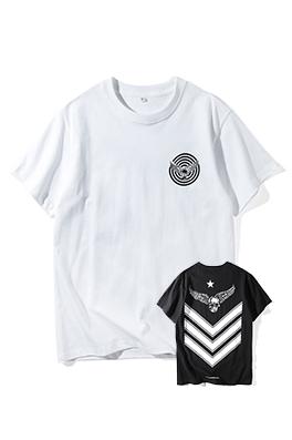 【クロムハーツ CHROME H*ARTS】 ネーム有り 高品質 メンズ レディース 半袖Tシャツ aat4181