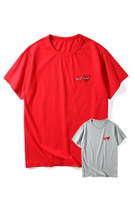 【コムデギャルソン COM*E des GA*ÇONS】 ネーム有り 高品質 メンズ レディース 半袖Tシャツ aat4204